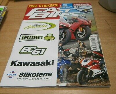 Fast Bikes magazine AUG 2019 Top 10 Used Investments, Torque or Top-End+Stickers