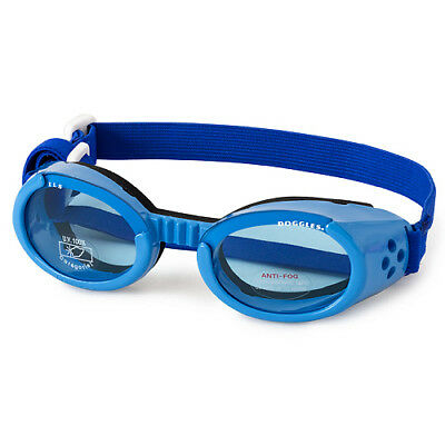 SUNGLASSES FOR DOGS by Doggles - BLUE - EXTRA SMALL