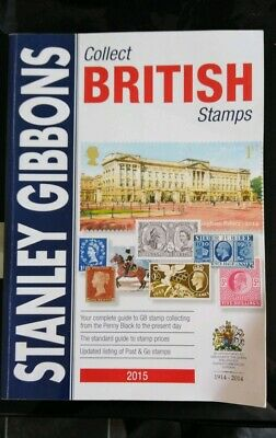 Stanley Gibbons Collect British Stamps. 2015 edition. Used, good condition.