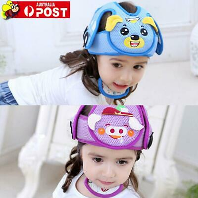 Infant Baby Toddler Crawling Walking Safety Helmet Headguard Head Protection Cap