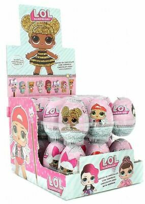 24x Lol Surprise Chocolate Surprise Eggs Kids Girls Party Bag Filler Gift Toy
