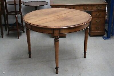 Simon Simpson Antique Reproduction Dining Table Extending with Leaf Mahogany Yew