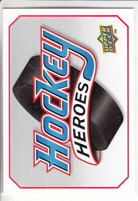 10/11 Ud Upper Deck Steve Yzerman Hockey Heroes Header Card