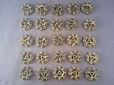Lot of 25 Vintage Cast Iron Spigot Handles Steampunk Salvage Art Deco