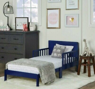Dream on Me Brookside Toddler Bed blue unisex Style 648