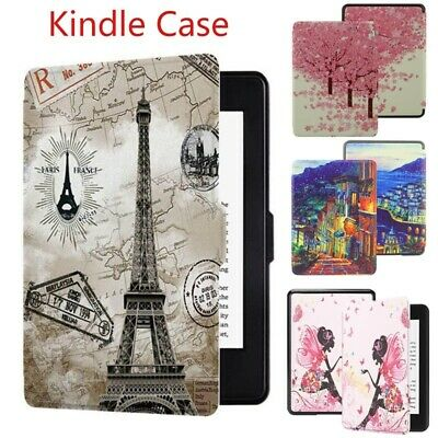 Kindle 658 Leather Case Ultra Slim Painted Protective Cover Kindle Paperwhite 4