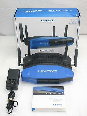 LINKSYS WRT1900ACS V2 1900Mbps Wifi 4 Port Gigabit VPN DDWRT ROUTER