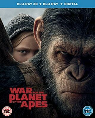 Planet Of The Apes - War For The Planet Of The Apes 3D Blu-Ray [Uk] New Bluray