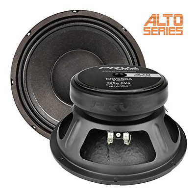 "PRV Audio 10W650A Alto Series 10"" Woofer 325 Watts RMS 8 ohms Pro Audio Speaker"