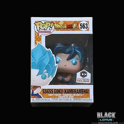 Funko Pop! Metallic SSGSS Goku (Kamehameha) Dragon Ball Super DBS Chalice Pop
