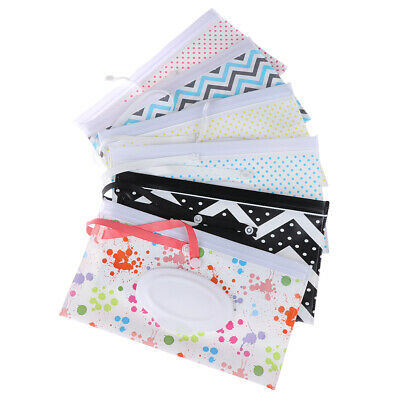Clutch and Clean Wipe Carrying Case Eco-friendly Wet Wipes Bag Cosmetic Pouch wj