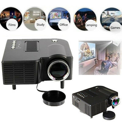 LED Mini Projector Fashionable Home Theater Video Projector for Outdoor Indoor