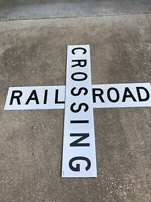 Original Railroad Crossing Signs