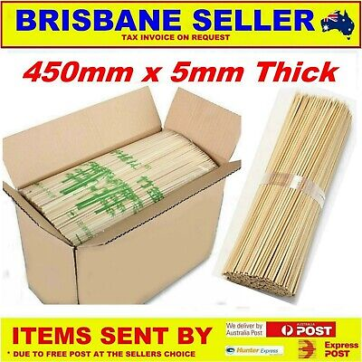 Bamboo Skewers x 2000 Size 450mm x 5mm
