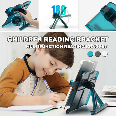 Multi-functional Portable Book Holder Book Stand Reading Bracket Adjustable