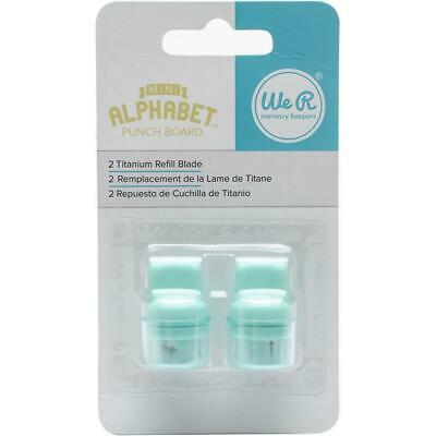 We R Memory Keepers Punch Board Blade Refill 2pk  For Mini Alphabet & Tag Punch