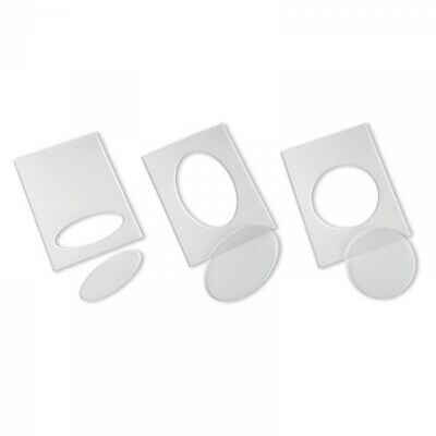 Sizzix Embossing Diffusers Set #1 3pc by Tim Holtz