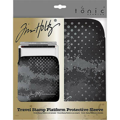 Tonic Studio Travel Stamp Platform Zipper Sleeve by Tim Holtz