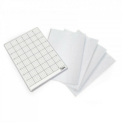 "Sizzix Big Shot Sticky Grid Sheets  6""x8.5"", 5pk"