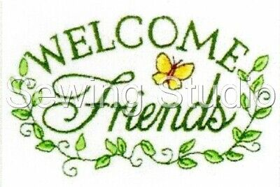 Friendship Designs - Machine Embroidery Designs On Cd Or Usb