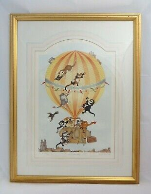 """Framed Print of """"Up Up and Away!"""" by Linda Jane Smith (Signed), Ltd Ed. 214/750"""