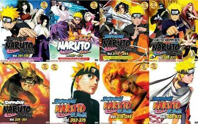 DVD NARUTO SHIPPUDEN ( Vol  704-707 ) Complete Box Set