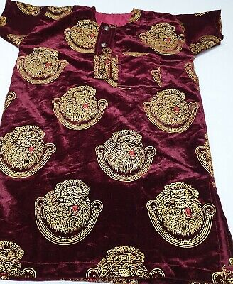 Elegant African Wedding Igbo Traditional Isiagu shirts