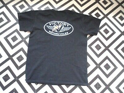 Mens 90S Victory Motorcycles Vintage T Shirt Streetwear Rave Hipster M Biker