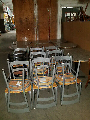 Coffee House Chair and Table Set