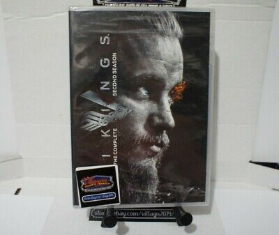 Vikings: The Complete Second Season   NEW DVD FREE SHIPPING!!!