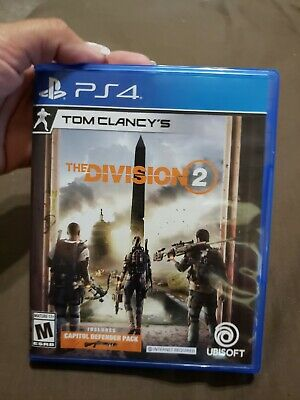 Tom Clancy's The Division 2 -- Standard Edition (Sony PlayStation 4, 2019) PS4