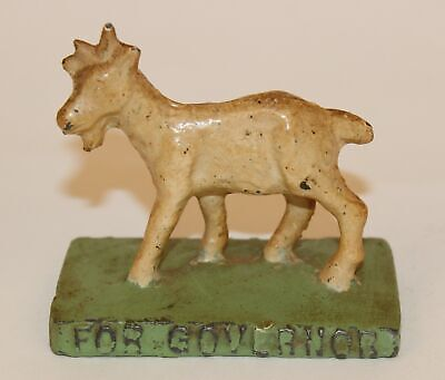 John Brinkley For Kansas Governor Goat Paperweight Quack Medicine Doctor #2