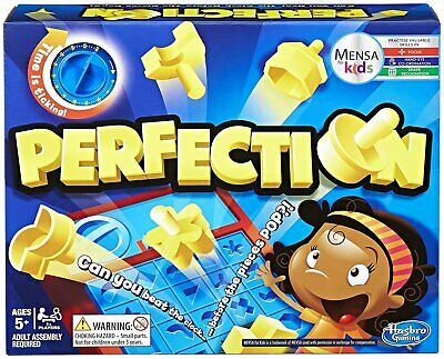 Perfection Game from Hasbro Gaming - 1+ Players.
