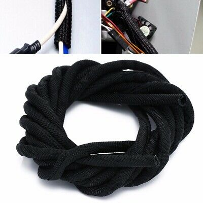 Wrap Braided Cable Sleeve General Wire Protection Nylon Sleeve Diameter 5mm Kit