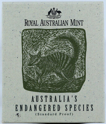 The Numbat Australia/'s Endangered Species 1995 $10 925 Silver Proof Coin