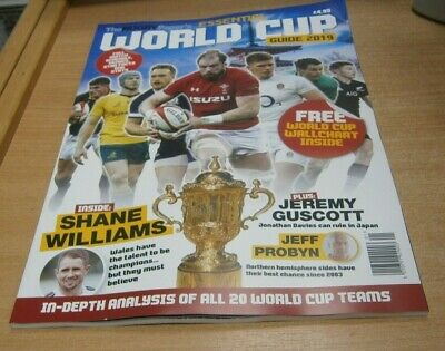 The Rugby Paper's Essential World Cup Guide 2019 Shane Williams, Jeremy Guscott