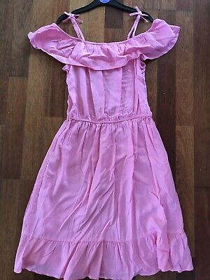 girls pink dress from H&M age 12-14 years BNWOT - New without tags