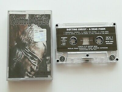 Rotting Christ - A Dead Poem - Cassette, Made In Poland 1997