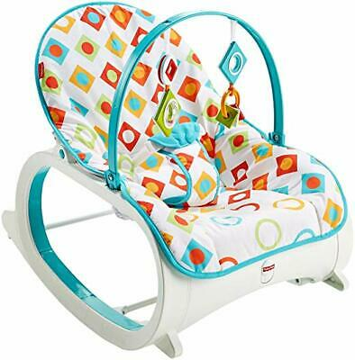 Fisher-Price Infant-to-Toddler Rocker - Geo Diamonds for Baby