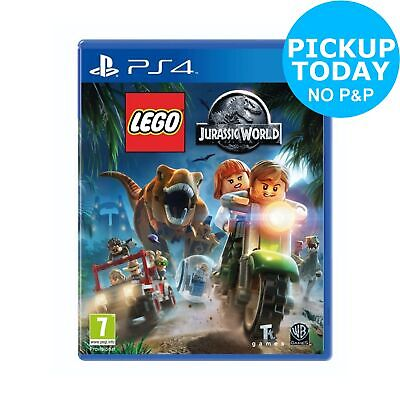 LEGO Jurassic World Sony Playstation PS4 Game 7+ Years