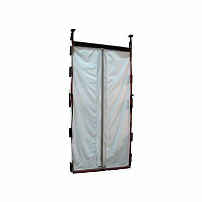 "FastCap 02091 3rd Hand 48"" Magnetic Dust Barrier Door System, 18-Pieces"