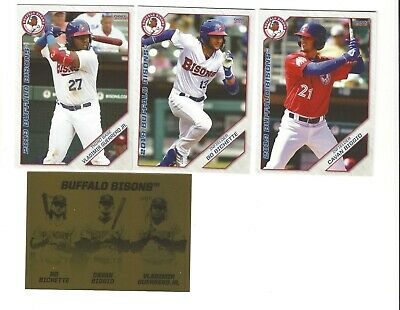 2019 Buffalo Bisons Team Set Complete Minors Bo Bichette Vlad Guerrero Biggio