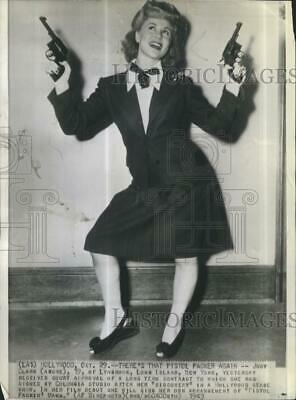 1955 Press Photo Actress Judy Clark Received Court Approval In Hollywood