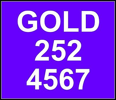 077#9 50 50 69 Gold Mobile Number Memorable Sim Card New For