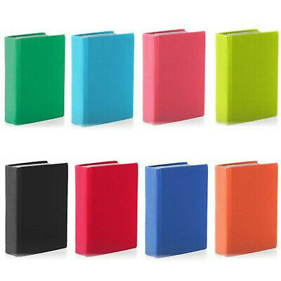 Stretchable Fabric Jumbo Size Book Covers, Assorted Solid Colors (Pack of 5)