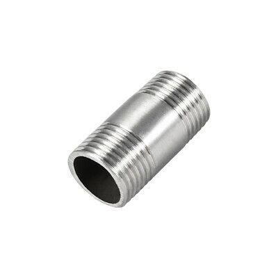 Stainless Steel 304 Cast Pipe Fittings Coupling Fitting 1/2 x 1/2 G Male