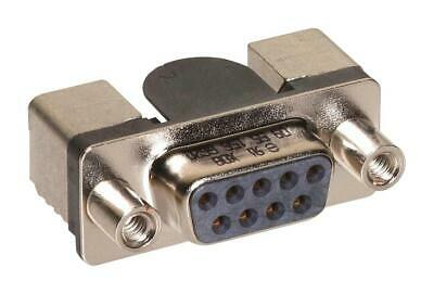 25 Contacts Through Hole HARTING 9663516513 D Sub Connector Receptacle Steel Body DB