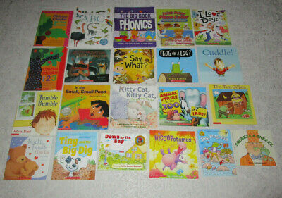 NEW Lot of 21 Rhyming Phonics Phonemic Awareness PreK-K Parents Teachers Daycare