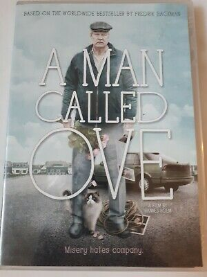 A man called Ove dvd based on worldwide bestseller by frederik Backman