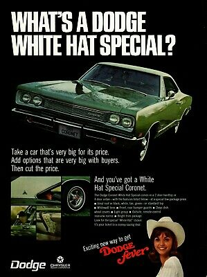 1969 DODGE FEVER Coronet Line Super Bee Color Dealers